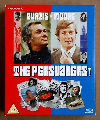 THE PERSUADERS! - THE COMPLETE SERIES (Blu-ray, 2011, 8-Disc Set) REGION B