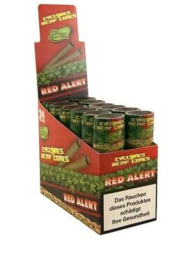 Cyclones Xtra Slo Red Flavored Pre Rolled Cone RED  (24 Pieces) Fast Delivery
