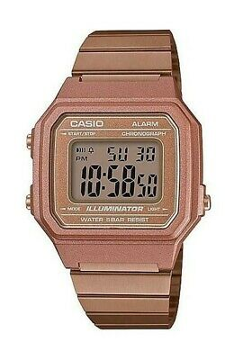 Casio B640WC-5A Unisex Rose Gold Tone Watch