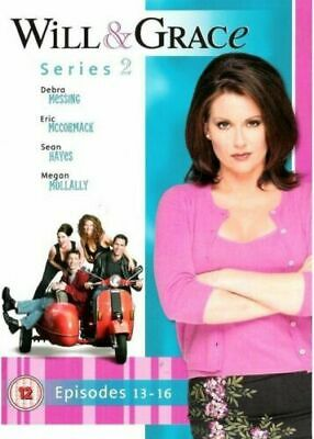 [DVD] Will And Grace: Series 2: Episodes 13-16 FAST + FREE P+P