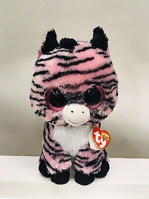 2b8797109d9 TY BEANIE BABY Beanie Boo Collection pink black ZOEY THE ZEBRA 9