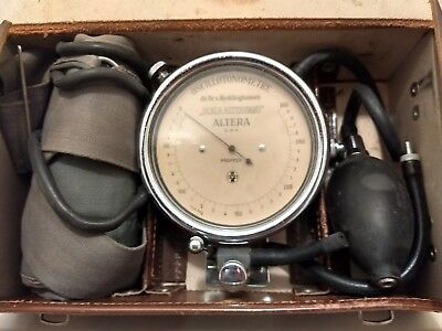 Antique Oscillotonometer Propper Blood Pressure Device  Dr.V.Recklinghausen
