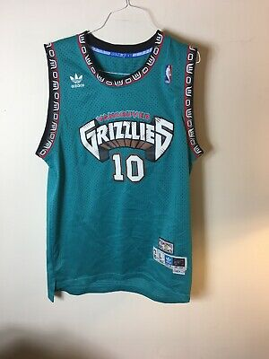 4dcf28c1b NEW Adidas NBA Vancouver Grizzlies  10 Mike Bibby Authentic Jersey Mens  Large