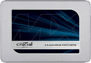 Crucial CT250MX500SSD1 SSD 2.5 250GB MX500 - Solid State Disk - Serial ATA 250