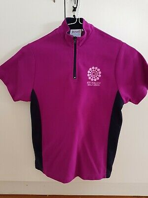 AGC Australian girls choir magenta polo allegro avanti size 10c