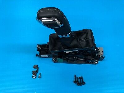 2017 Ford F150 Floor Shifter Automatic 10 Speed Leather Black W/ Gray Stitching