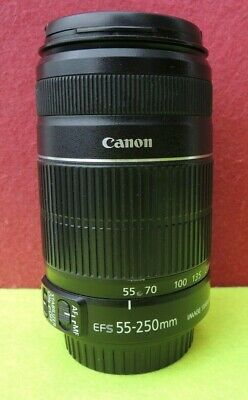 OBJETIVO CANON ZOOM LENS EF-S 55-250mm 1:4-5:6 IS II (LEER ANUNCIO)