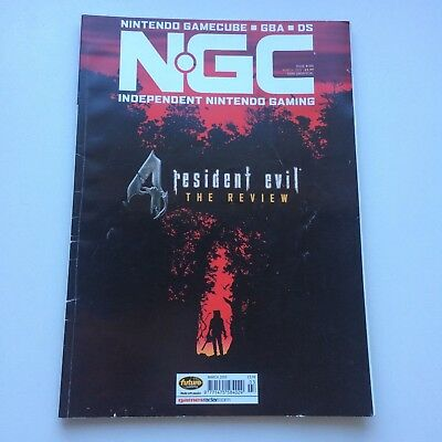 NGC Magazine March 2005 Issue #104 : Resident Evil 4, VGC, Combined postage!