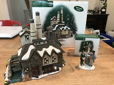 Department 56 Dickens Village Gin Distillery With Accessory Piece