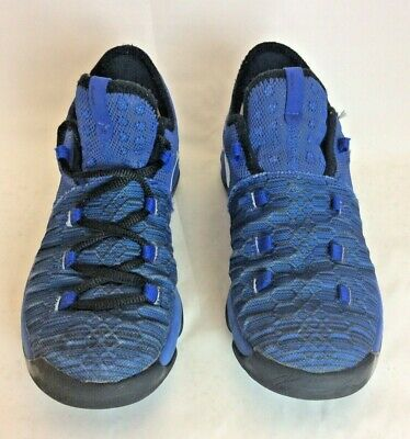 best service 3b578 7e572 NIKE KIDS' KD 9 Basketball Shoes Kevin Durant Boys Youth Size 3 Black and  Blue