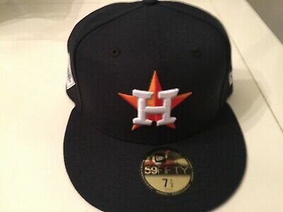 96ac7f46e7b7e Brand New Houston Astros 2017 World Series New Era 59Fifty Men s 7 1 2 Cap