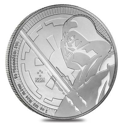 2018 Niue Silver $2 Star Wars Darth Vadar BU