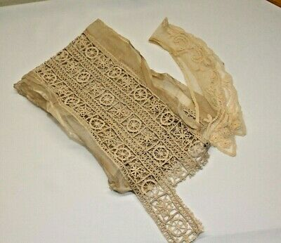 Antique Vintage Victorian Lace Collars
