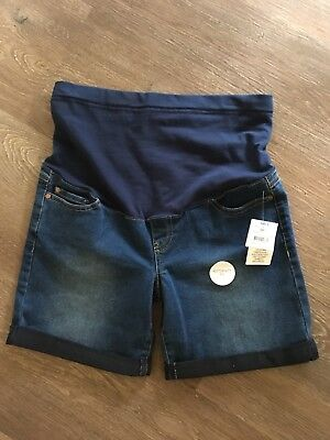 Denim Maternity Shorts Size 8 BNWT