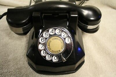Vintage Automatic Electric Model 34 Dial Telephone-No Reserve