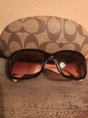 f22c14c1e2f2 COACH TORTOISE SHELL Brown Sunglasses - $13.90 | PicClick