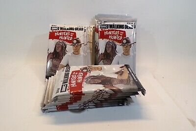 TOPPS The Walking Dead Hunters & The Hunted Series 30 Unopened Packs Of Cards