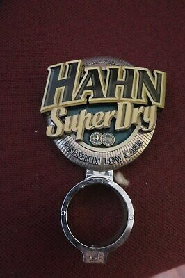 Tap Beer HAHN SUPER DRY Metal Badges