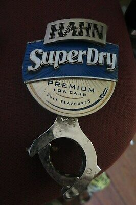 Tap Beer HAHN SUPER DRY 'Metal Badges