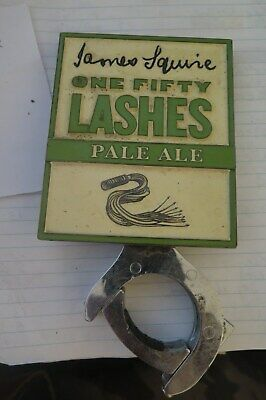 Tap Beer JAMES SQUIRE ONE FIFTY LASHES   Metal Badges