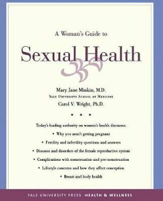 NEW A Woman's Guide to Sexual Health By Mary Jane Minkin Paperback Free Shipping