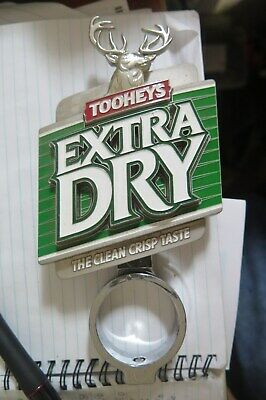Tap Beer TOOTHEYS EXTRA DRY Metal Badges