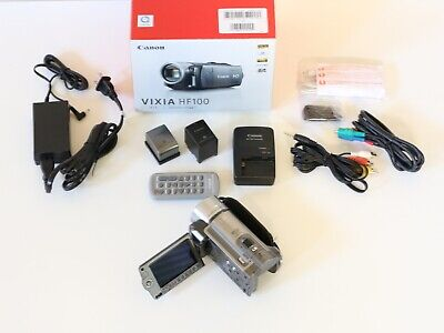 Canon VIXIA HF100 Flash Media Camcorder HD Video Camera