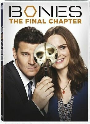 Bones Season 12 The Final Chapter - 3 DVD SET Like NEW - Opened but never played