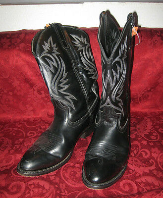 5d4c89d6eb656 Laredo Black Leather London Western Boots Style 4210 - US Men s 11D -  gently use