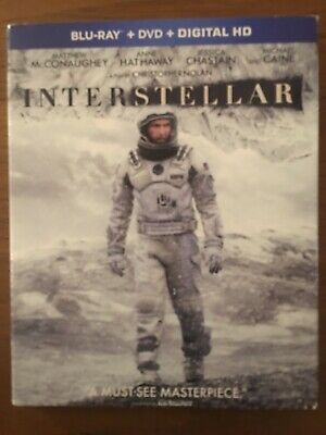 Interstellar Blu-ray & DVD & Digital HD