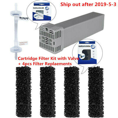 US Cartridge Filter Kit with Check Valve + 4pcs Replacement for SoClean2 SC1200