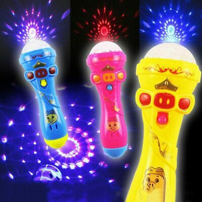 Gift Joyful Flash Sticks Luminous Microphone Karaoke Singing Music Toy