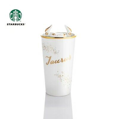 Starbucks 2019 China Constellation Astrology Zodiac Sign Taurus DW 12oz Mug