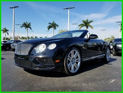 2016 Bentley Continental GT W12 2016 W12 Used Turbo 6L W12 48V Automatic AWD Premium