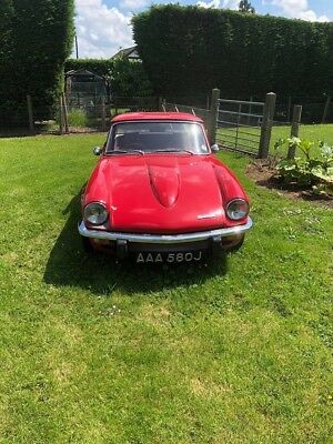 Triumph Spitfire 1971 1500 Barn Find Spares Or Repair