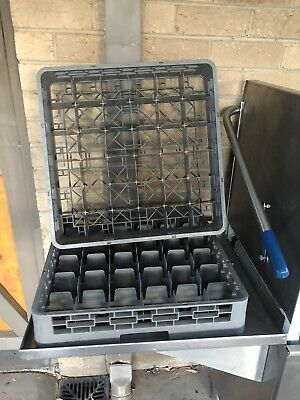 Dishwasher racks / trays for pass through / commercial dishwasher