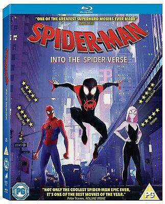 Spider-Man - Into the Spider-verse [Blu-ray]