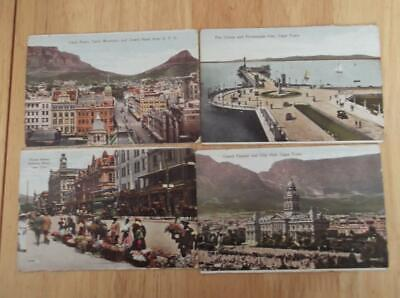 10 X 1910-1920 Cape Town South Africa Postcards. Views,locals,street Scenes  G30