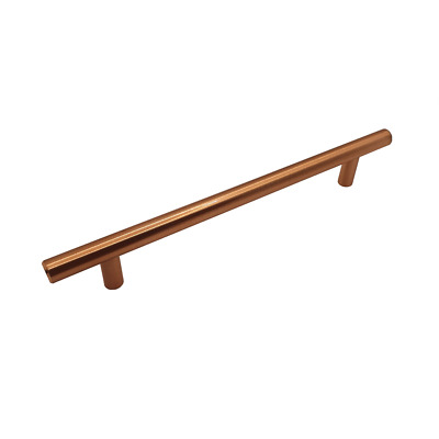10X FittingsCo VEROLI T Bar Handle Copper Finish 160mm Hole Centres