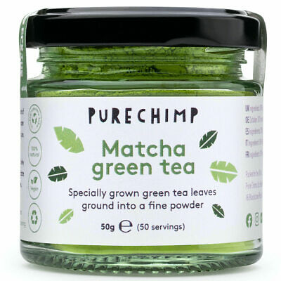 Matcha Green Tea Powder - Premium Japanese Ceremonial Grade by PureChimp