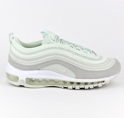 ab5c64573 Nike WMNS Air Max 97 Premium PRM Women Lifestyle Shoes Barely Green 917646 -301