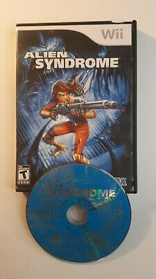 Alien Syndrome (Nintendo Wii, 2007) FAST AND FREE SHIPPING !!