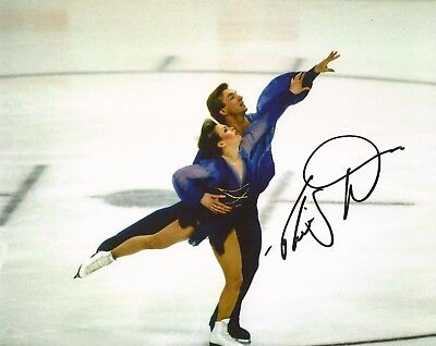 1984 WINTER OLYMPICS: CHRISTOPHER DEAN 'TORVILL & DEAN' SIGNED 10x8 PHOTO+COA