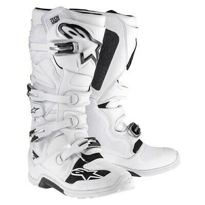Alpinestars Tech 7 Enduro crosslaarzen Wit