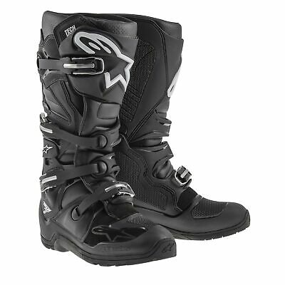Alpinestars Tech 7 Enduro crosslaarzen Zwart