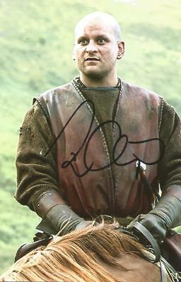 GAME OF THRONES* RICKY CHAMP 'GATINS' SIGNED 6x4 ACTION PHOTO+COA