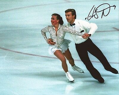 SKATING/DANCING ON ICE: CHRISTOPHER DEAN 'TORVILL & DEAN' SIGNED 10x8 PHOTO+COA