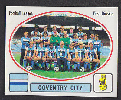 Panini - Football 82 - # 70 Coventry Team Group