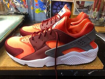54a58e88528e4 Nike Air Huarache Gunsmoke Team Red-Rush Coral Size US 13 Men s 318429 054