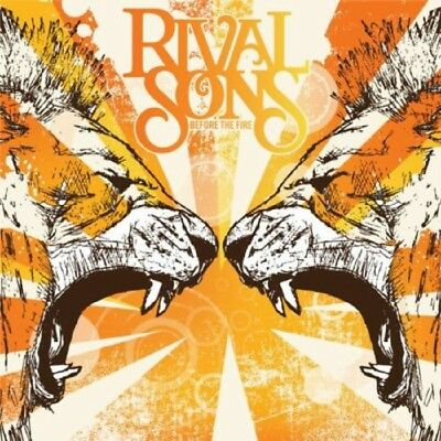 RIVAL SONS Before The Fire CD 2009 MINT